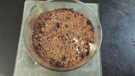 Pudding à la rhubarbe